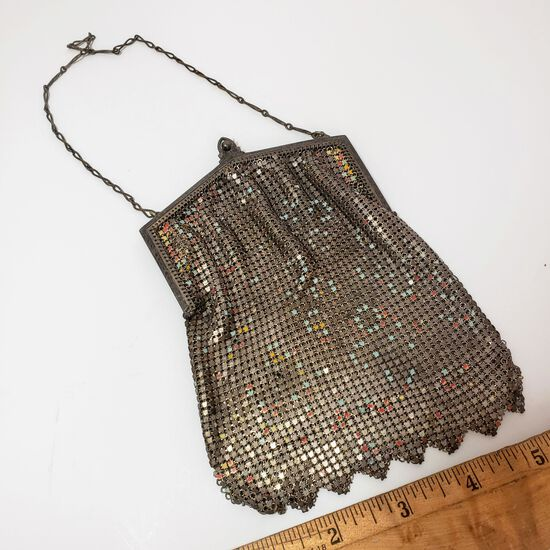 Antique Metal Mesh Purse