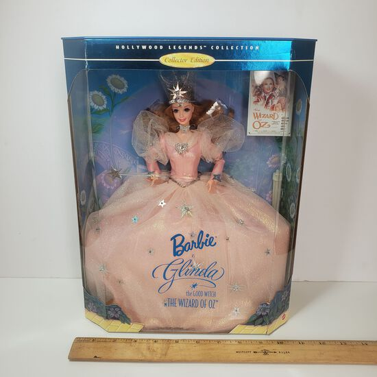 "Barbie ""Glenda the Good Witch"" Wizard of Oz Hollywood Legends Collector Edition Doll"