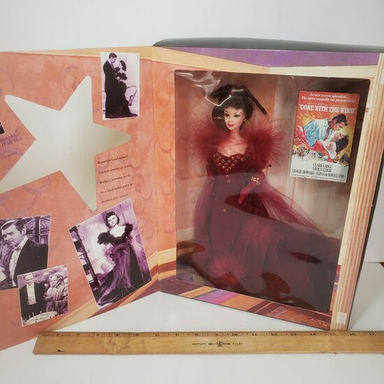 Vintage Barbie Scarlett O'Hara Gone With the Wind Hollywood Legends Collectors Edition Doll