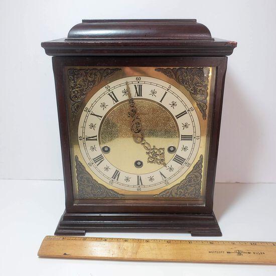 Vintage Wood Junghans Mantel Clock