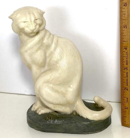 J Boulton Wildcat Composition Sculpture - Very Collectible