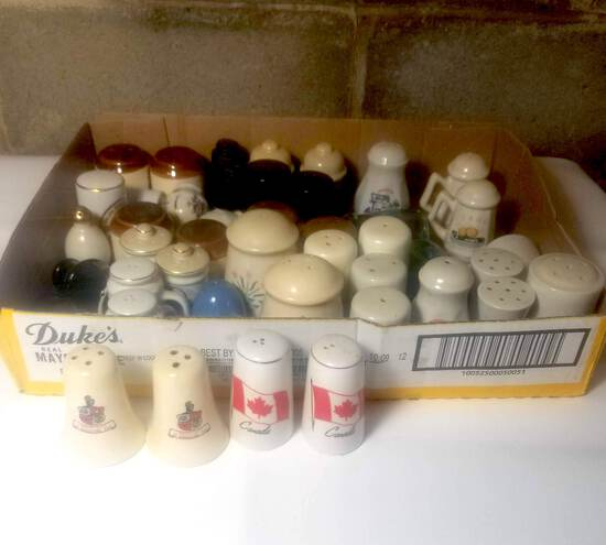Salt and Pepper Shakers Collection