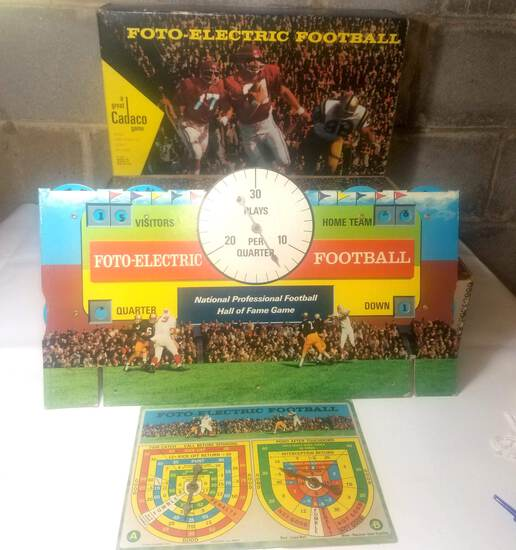 Foto Electric Football Hall of Fame Game