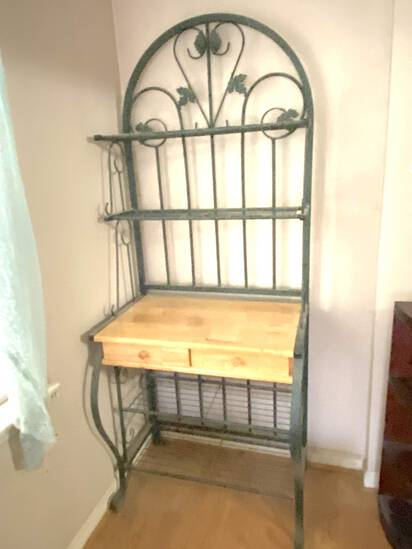 Bakers Rack with 2 Drawers