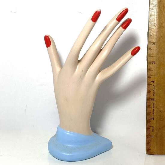 Ceramic Hand Display - Great For Rings