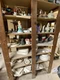 Lot of Misc Hand Painted Ceramics & Some Unpainted Ceramics