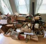 HUGE Lot of Ceramics & Collectibles - Take What You Want- Leave What You Don't