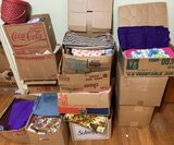 Large Lot of Fabric