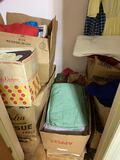 Closet FULL of Misc Fabric