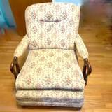 Vintage Gooseneck Arm Chair