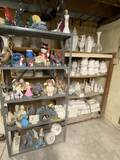 HUGE Lot of Misc Unpainted Ceramics & Molds