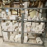 Large Lot of Misc Ceramic Molds