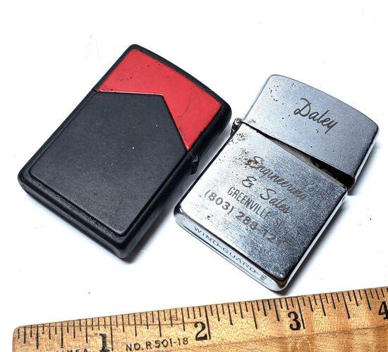 Vintage Zippo Lighter Lot of 2