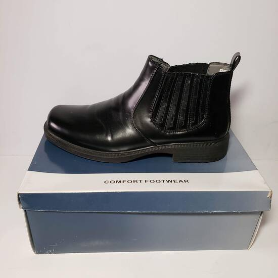 Black Men's Boot Size 11