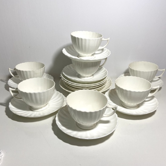Lot of Radfords Bone China Tea Cups & Saucers Made in England