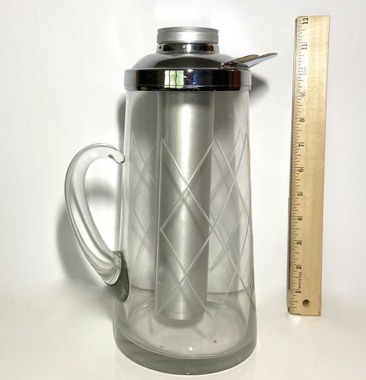 "Vintage ""CHILLIT"" Pitcher with CHILLI TUBE & Cap"