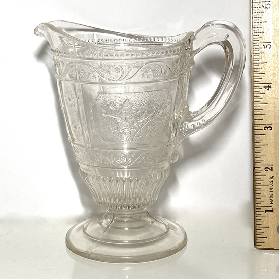 Pretty Vintage Embossed Pitcher