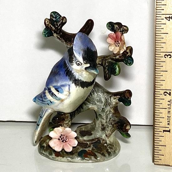 Vintage Porcelain Bird Figurine Made in Japan