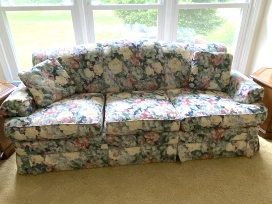 Floral Sofa by Southern Manor Furniture Corp.