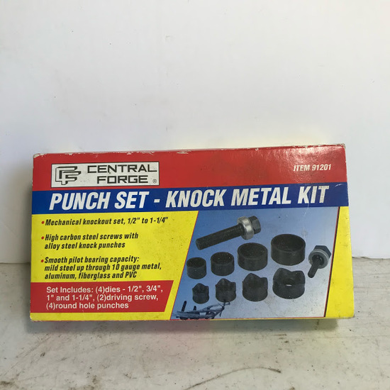 Central Forge Punch Set - Knock Metal Kit