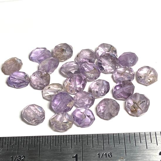 Natural Stone Ametrine Cut Beads