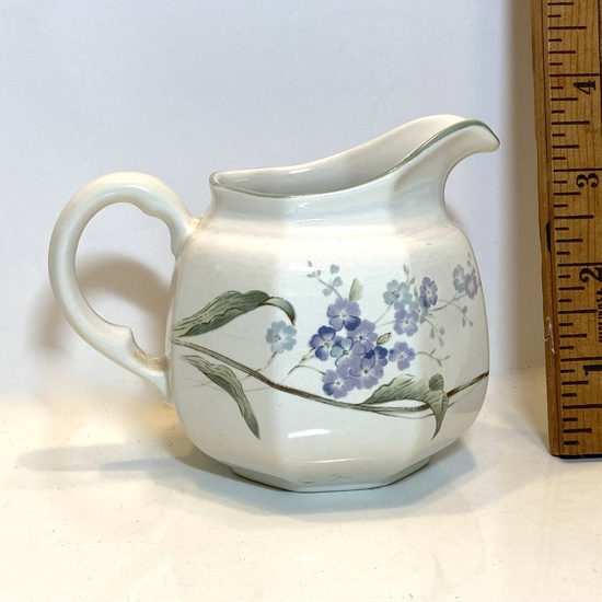 Mikasa Lavender Floral Creamer Continental Made in Japan