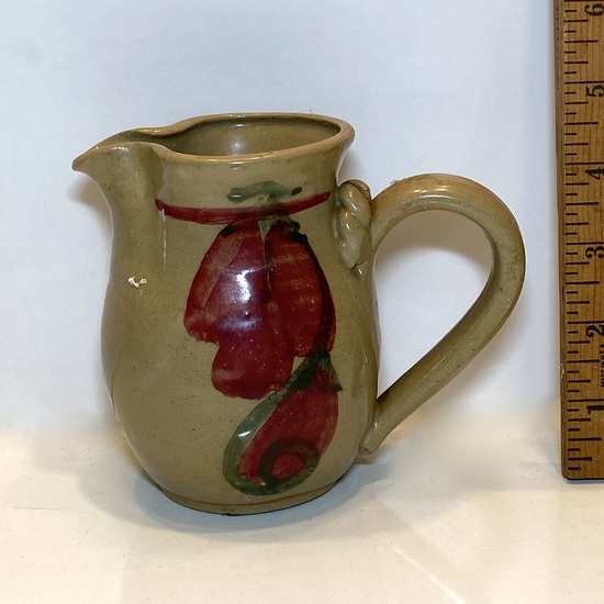 Signed Pottery Creamer