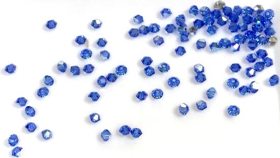 Lot of Swarovski Xilion Bicone Crystal Beads