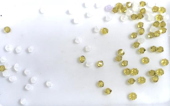 Lot of 3mm Swarovski Crystal Beads