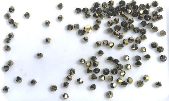 Lot of 4mm Bicone Swarovski Crystal Beads
