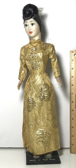 Vintage Vietnamese Figurine