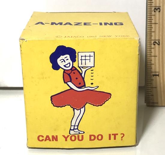 A-Maze-Ing 1963 Puzzle Box