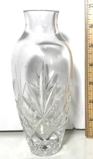 Lenox Pressed Glass Vase