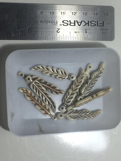 9 Bone Feathers
