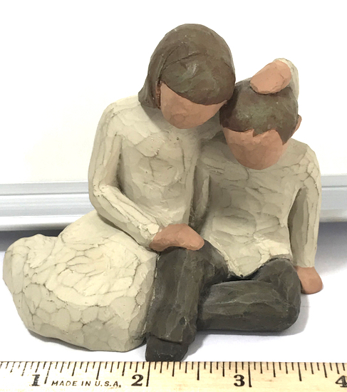 Willow Tree 2001 Sister and Brother Figurine