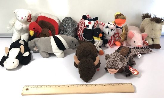 Lot of Misc Collectible Beanie Babies