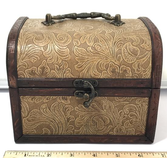 Decorative Wooden Treasure Box