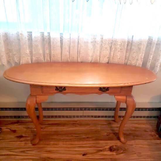 Oak Foyer Table