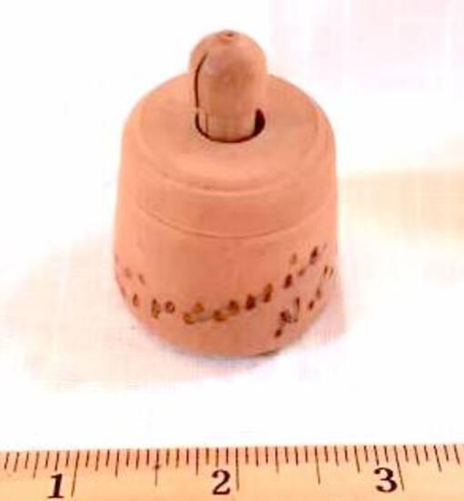 """Miniature Butter Mold """"Zirconia , NC"""""""