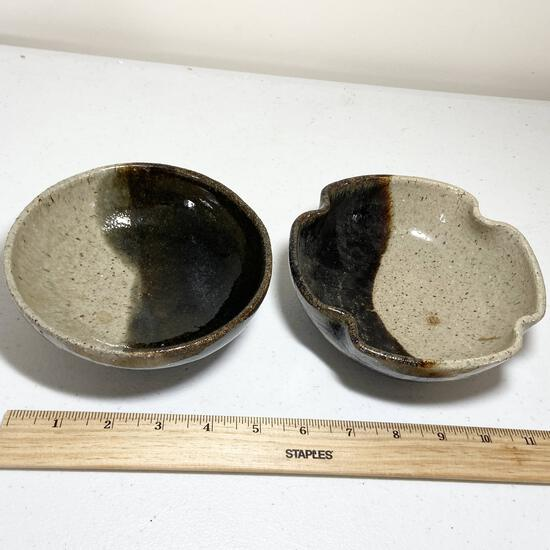 Pair of Pottery Bowls