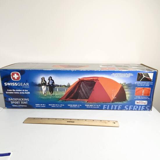 Backpacking Sport Tent by Swissgear in Box