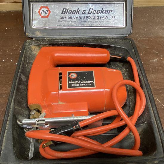 Black & Decker Jigsaw in Case
