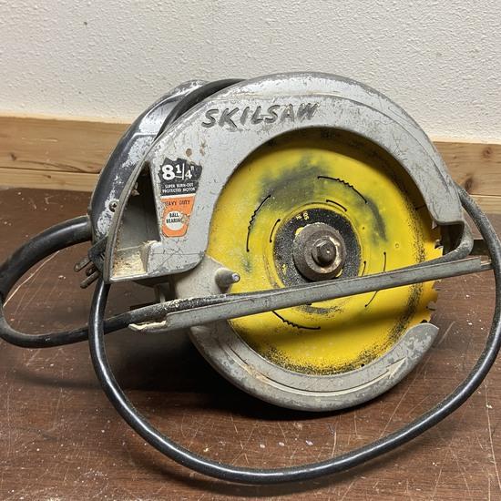 """SKIL Model 554 8-1/4"""" Circular Saw"""