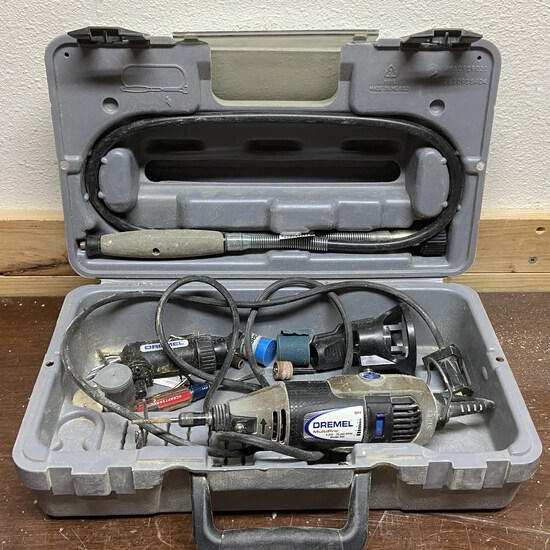 Dremel MultiPro Model 395 with Accessories
