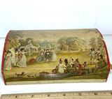 """Vintage """"Archery"""" Society of Royal British Archers No Mend Stockings Collectible Box"""