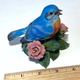 Vintage Fine Porcelain Blue Bird Lenox Figurine