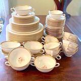 81 pc Vintage Lenox NYDIA Dinnerware
