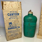 Vintage Oasis Canteen with Original Box
