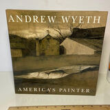 """Andrew Wyeth """"America's Painter"""" First Edition 1996 Hard Cover Book"""