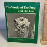 """1967 Signed """"The World of the Frog and The Toad"""" Hard Cover Book"""